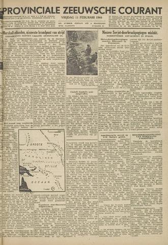 Provinciale Zeeuwse Courant 1944-02-11