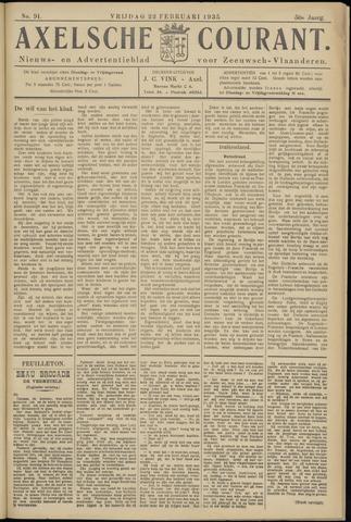 Axelsche Courant 1935-02-22