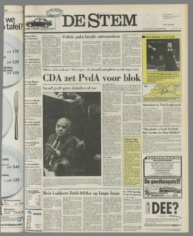 de Stem 1992-01-29