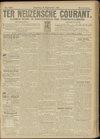 Ter Neuzensche Courant. Algemeen Nieuws- en Advertentieblad voor Zeeuwsch-Vlaanderen / Neuzensche Courant ... (idem) / (Algemeen) nieuws en advertentieblad voor Zeeuwsch-Vlaanderen 1915-09-18