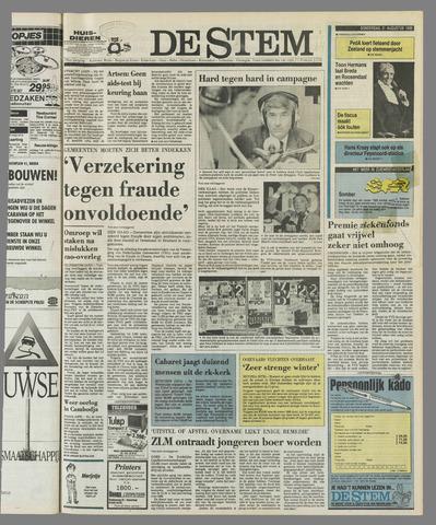 de Stem 1989-08-31