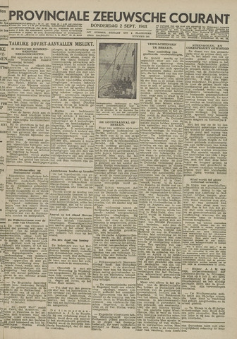 Provinciale Zeeuwse Courant 1943-09-02