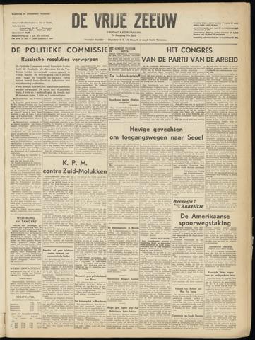 de Vrije Zeeuw 1951-02-09