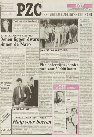 Provinciale Zeeuwse Courant 1983-06-02