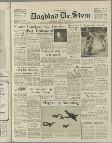 de Stem 1958-07-07