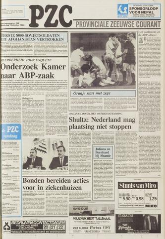 Provinciale Zeeuwse Courant 1986-10-16