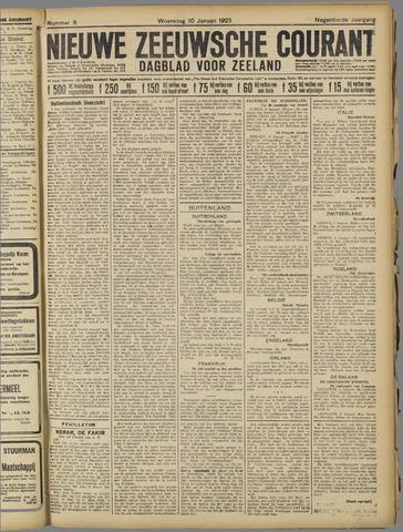 Nieuwe Zeeuwsche Courant 1923-01-10