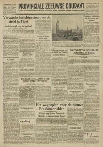 Provinciale Zeeuwse Courant 1950-11-15
