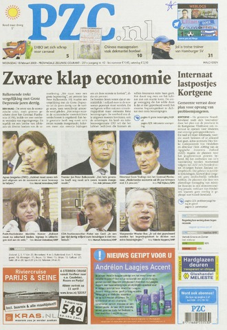 Provinciale Zeeuwse Courant 2009-02-18