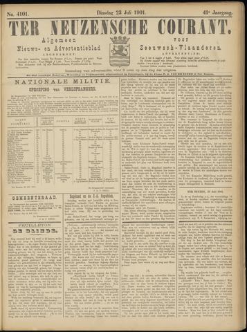Ter Neuzensche Courant. Algemeen Nieuws- en Advertentieblad voor Zeeuwsch-Vlaanderen / Neuzensche Courant ... (idem) / (Algemeen) nieuws en advertentieblad voor Zeeuwsch-Vlaanderen 1901-07-23