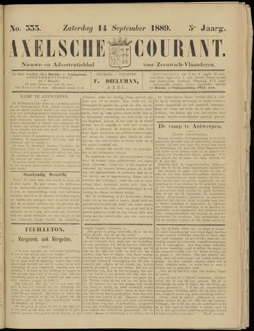 Axelsche Courant 1889-09-14