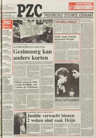 Provinciale Zeeuwse Courant 1987-11-11