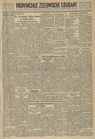 Provinciale Zeeuwse Courant 1946-01-04