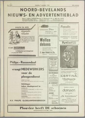 Noord-Bevelands Nieuws- en advertentieblad 1964-11-07
