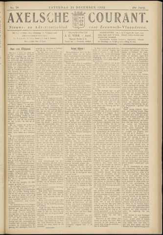 Axelsche Courant 1932-12-31