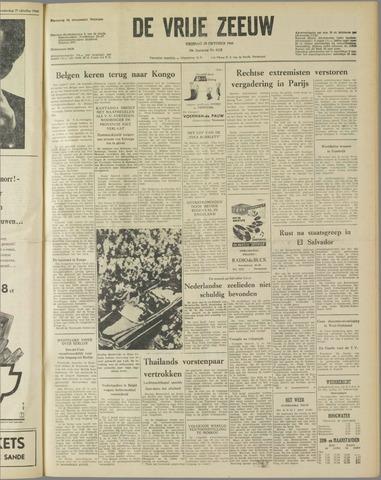 de Vrije Zeeuw 1960-10-28