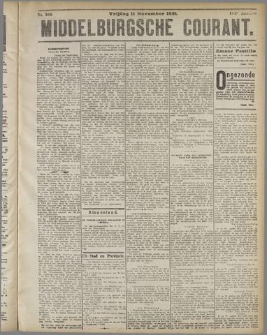 Middelburgsche Courant 1921-11-11