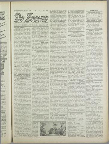 De Zeeuw. Christelijk-historisch nieuwsblad voor Zeeland 1943-07-29