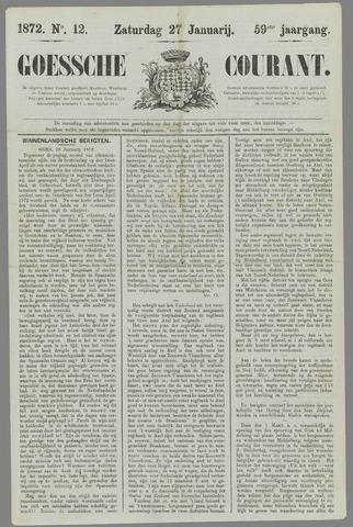 Goessche Courant 1872-01-27