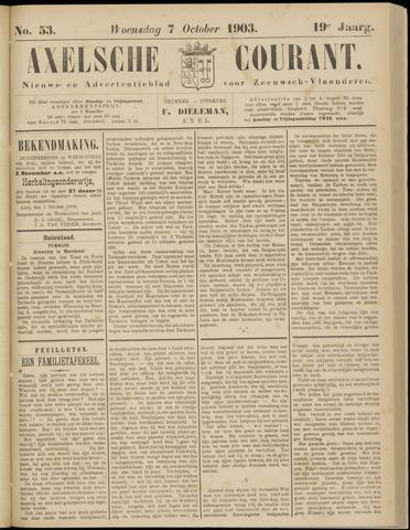 Axelsche Courant 1903-10-07