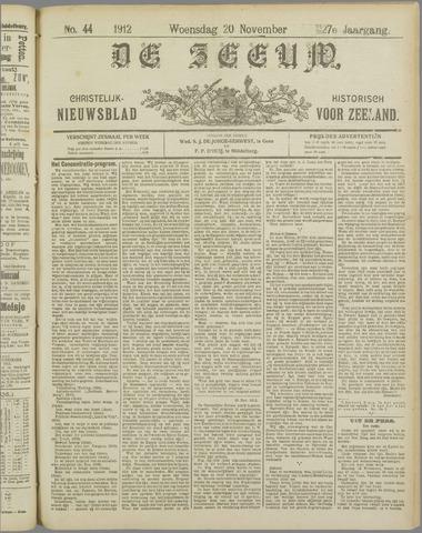De Zeeuw. Christelijk-historisch nieuwsblad voor Zeeland 1912-11-20