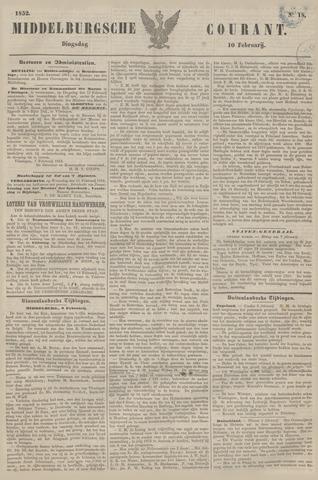 Middelburgsche Courant 1852-02-10