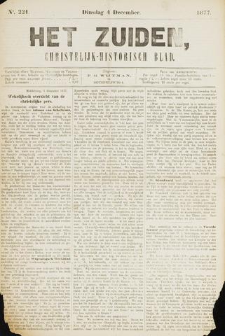 Het Zuiden, Christelijk-historisch blad 1877-12-04