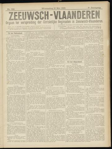 Luctor et Emergo. Antirevolutionair nieuws- en advertentieblad voor Zeeland / Zeeuwsch-Vlaanderen. Orgaan ter verspreiding van de christelijke beginselen in Zeeuwsch-Vlaanderen 1920-05-12