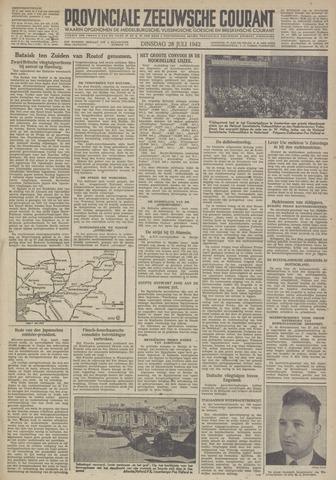 Provinciale Zeeuwse Courant 1942-07-28