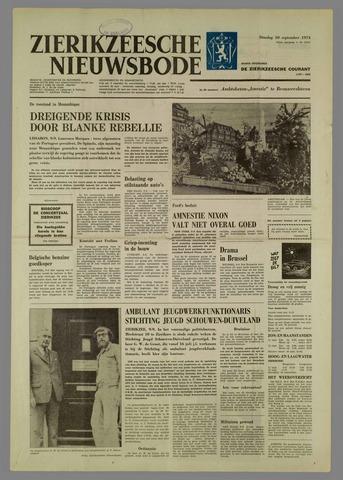 Zierikzeesche Nieuwsbode 1974-09-10