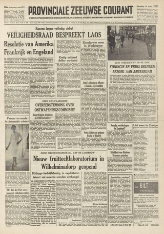 Provinciale Zeeuwse Courant 1959-09-08
