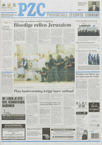 Provinciale Zeeuwse Courant 2000-09-30