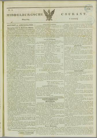 Middelburgsche Courant 1846-01-06