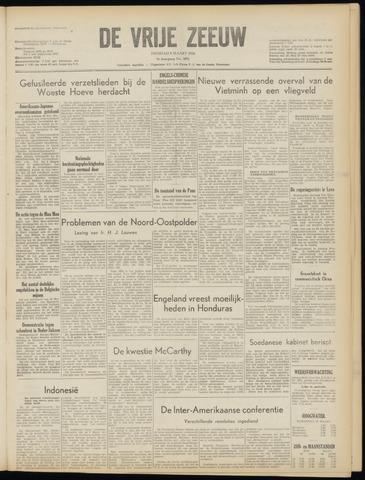 de Vrije Zeeuw 1954-03-09