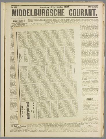 Middelburgsche Courant 1927-11-14