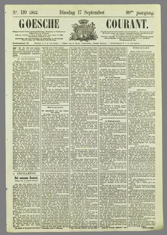 Goessche Courant 1912-09-17