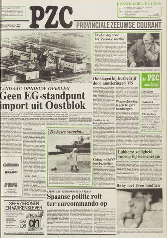 Provinciale Zeeuwse Courant 1986-05-12