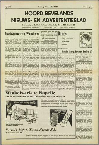 Noord-Bevelands Nieuws- en advertentieblad 1954-11-20