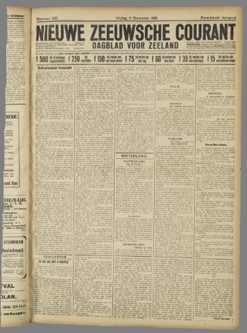 Nieuwe Zeeuwsche Courant 1921-12-09