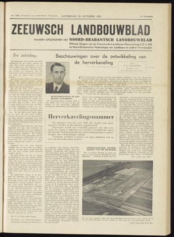 Zeeuwsch landbouwblad ... ZLM land- en tuinbouwblad 1955-10-29