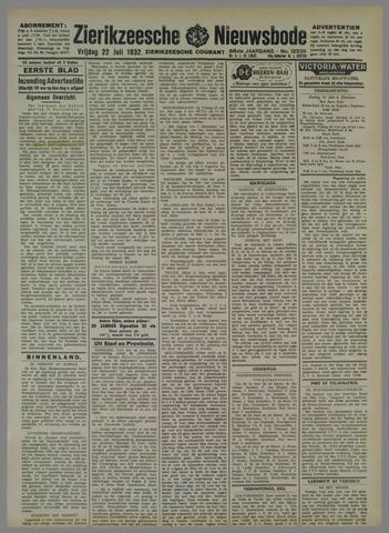 Zierikzeesche Nieuwsbode 1932-07-22