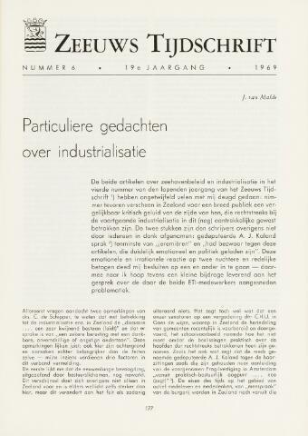 Zeeuws Tijdschrift 1969-11-01