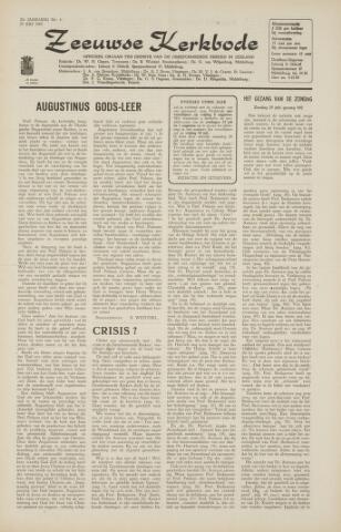 Zeeuwsche kerkbode, weekblad gewijd aan de belangen der gereformeerde kerken/ Zeeuwsch kerkblad 1965-07-23