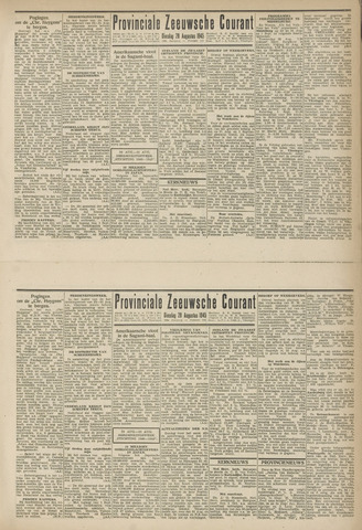Provinciale Zeeuwse Courant 1945-08-28