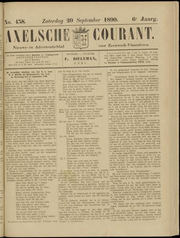 Axelsche Courant 1890-09-20