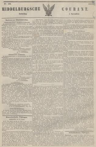 Middelburgsche Courant 1851-11-01