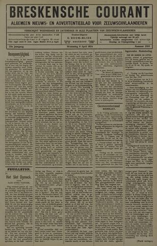 Breskensche Courant 1924-04-09