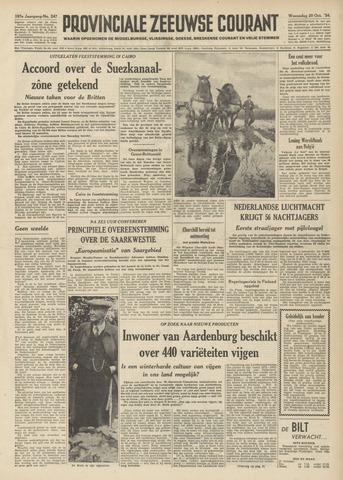 Provinciale Zeeuwse Courant 1954-10-20