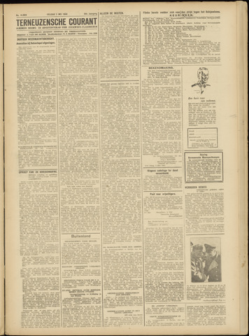 Ter Neuzensche Courant. Algemeen Nieuws- en Advertentieblad voor Zeeuwsch-Vlaanderen / Neuzensche Courant ... (idem) / (Algemeen) nieuws en advertentieblad voor Zeeuwsch-Vlaanderen 1944-05-05
