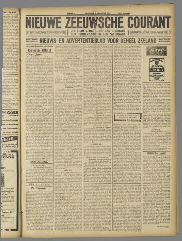 Nieuwe Zeeuwsche Courant 1924-08-16